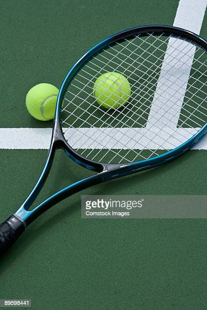 racket and tennis balls - tennis racquet stock pictures, royalty-free photos & images