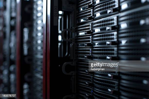 Rackmount Servern in einem Data Center
