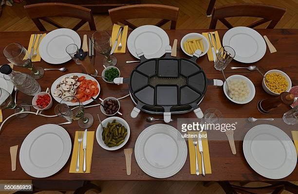 Raclette Esstisch Wohnung