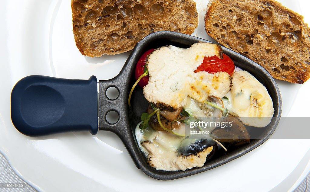 Raclette : Foto de stock