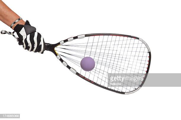 racquetball strikes racket - sports glove stock pictures, royalty-free photos & images