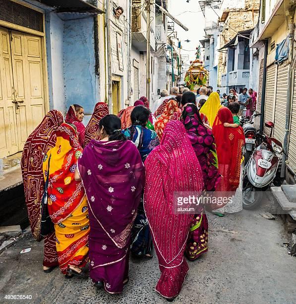 Rada Krishna festival in Udaipur India