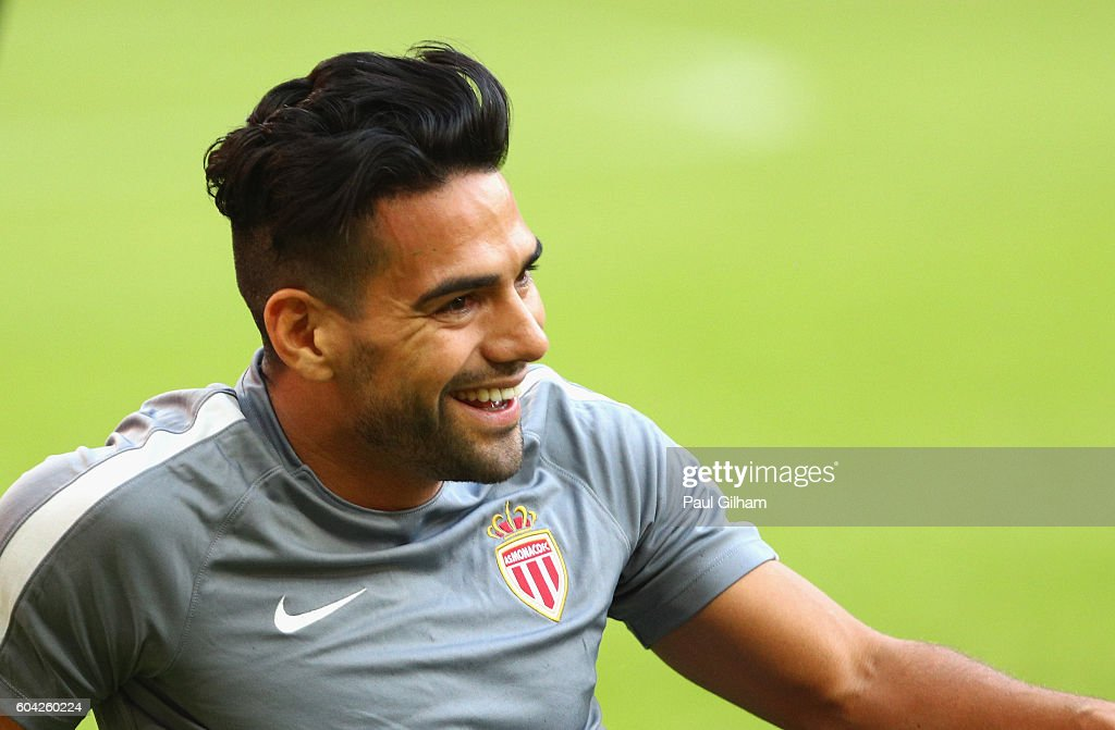 AS Monaco FC Training Session and Press Conference : ニュース写真