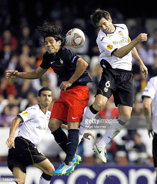 Lucas Moura Vs Barcelona: David Albelda Stock Photos And Pictures