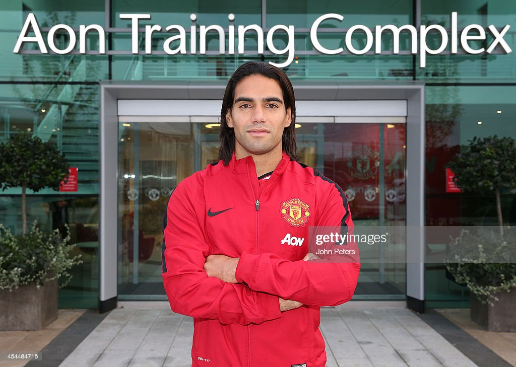 Radamel Falcao Signs For Manchester United On Loan From Monaco : News Photo