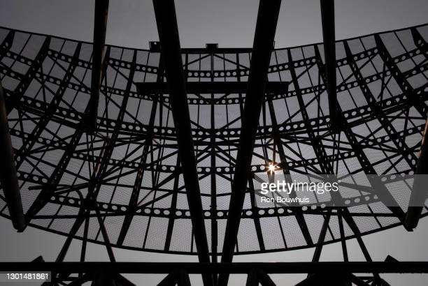 radar antenna - 100th anniversary stock pictures, royalty-free photos & images