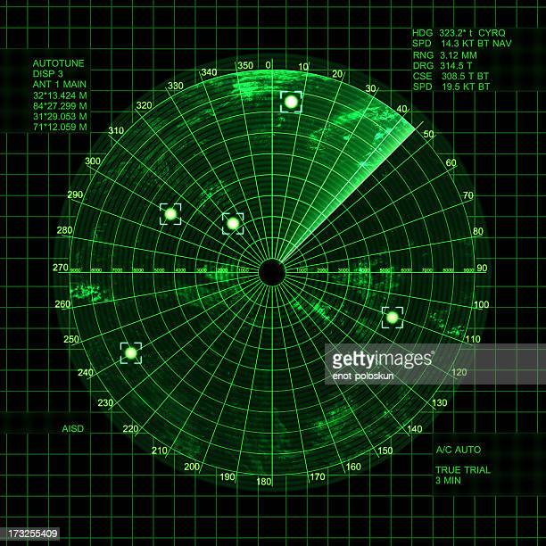 radar - gps map stock photos and pictures