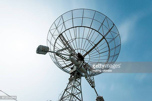 radar station - receiver stock pictures, royalty-free photos & images