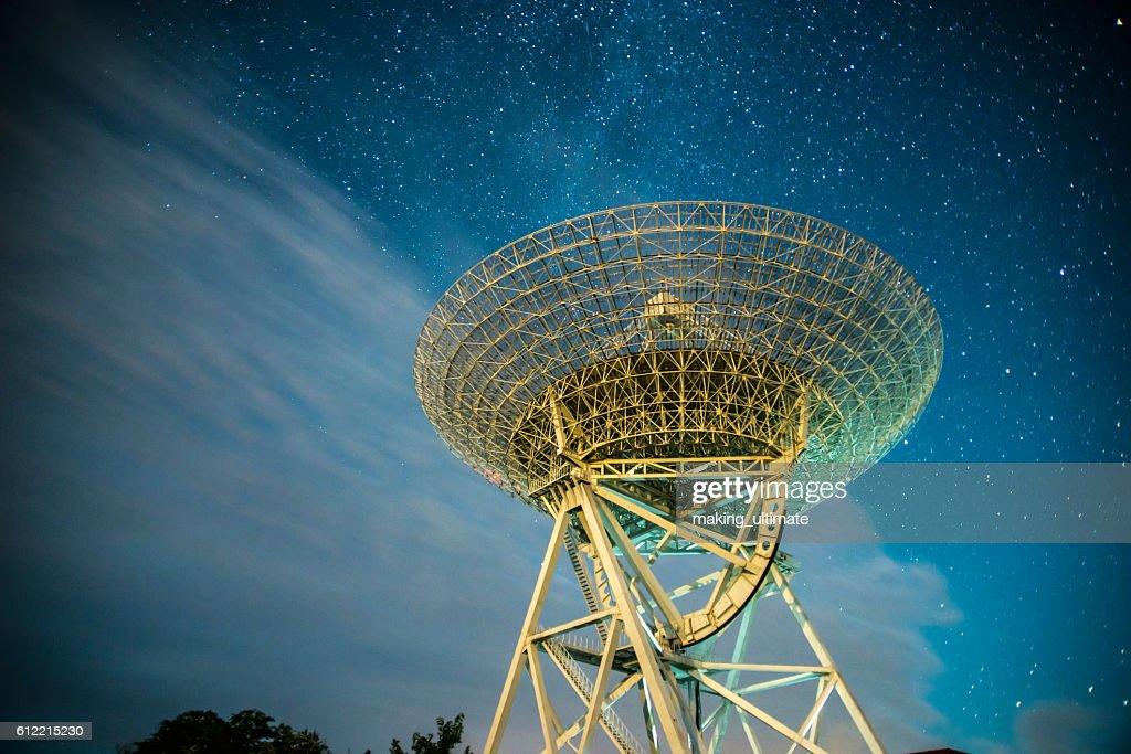 radar station : Stock Photo