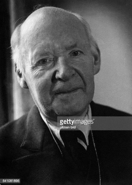 Radbruch, Gustav *1878-1949+Jurist, Politiker, SPD- Portrait- undatiert