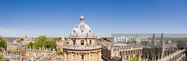 Radcliffe Camera and All Souls College Oxford England