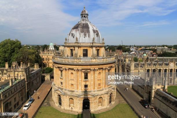 Radcliffe Camera building University of Oxford England UK architect James Gibbs neoclassical style 1737Ð1749