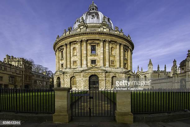 Radcliffe Camera, Oxford University, England