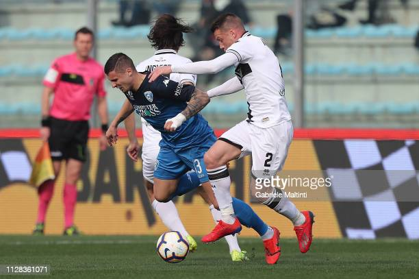 Rade Krunic of Empoli FC in action during the Serie A match between Empoli and Parma Calcio at Stadio Carlo Castellani on March 2 2019 in Empoli Italy
