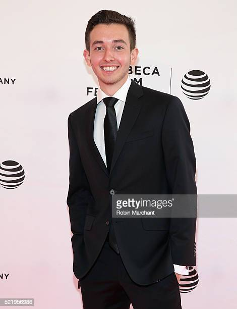 Radek Lord attends 'A Kind of Murder' premiere during 2016 Tribeca Film Festival at SVA Theatre 2 on April 17 2016 in New York City