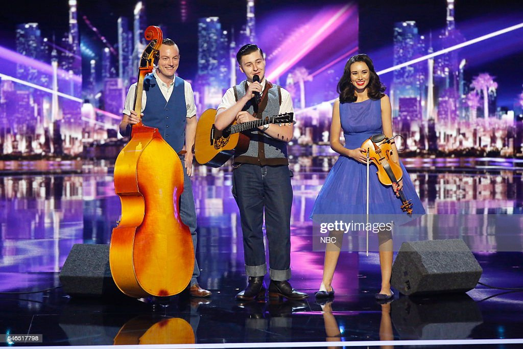 S GOT TALENT -- 'CBS Radford Auditions' -- Pictured: Julian Davis & the Hayburners --