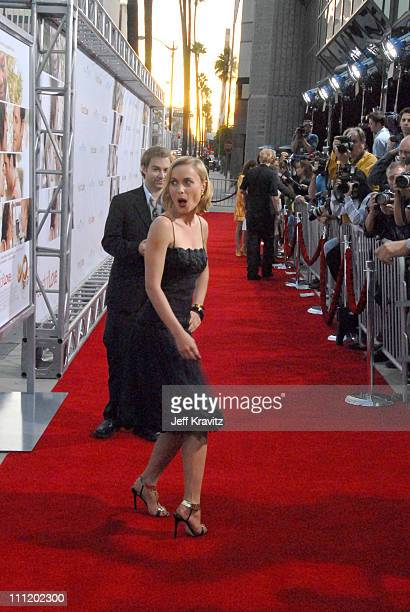 """Radha Mitchell arrives at the """"Feast of Love"""" premiere at The Academy of Motion Picture Arts and Sciences on September 25, 2007 in Los Angeles,..."""