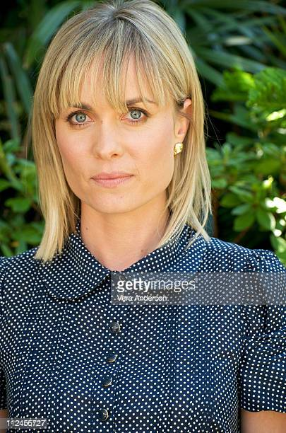 """Radha Mitchell at the """"Henry Poole Is Here"""" press conference at the Four Seasons Hotel on August 9, 2008 in Beverly Hills, California."""