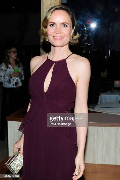 Radha Mitchell attends Lionsgate Hosts the After Party for The Shack at Gabriel Kreuther on February 28 2017 in New York City