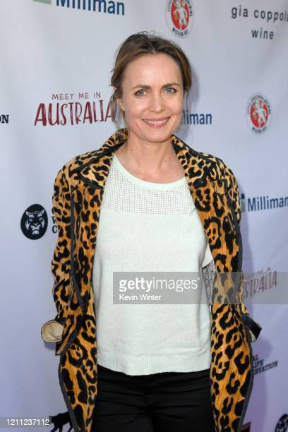 Radha Mitchell attends Meet Me In Australia To Benefit Australia Wildfire Relief Efforts hosted by The Greater Los Angeles Zoo Association at Los...