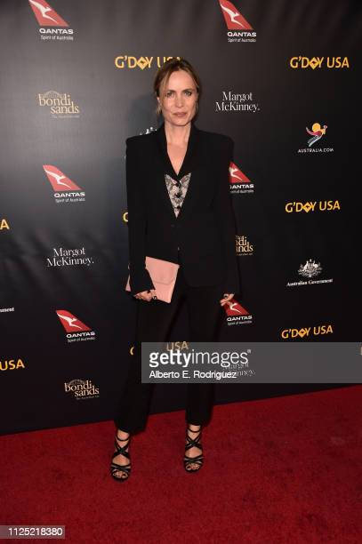 Radha Mitchell attends the 16th annual G'Day USA Los Angeles Gala at 3LABS on January 26 2019 in Culver City California