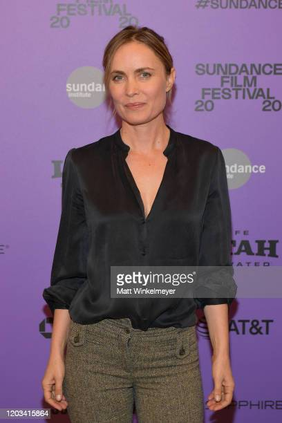 Radha Mitchell attends the 2020 Sundance Film Festival High Art Premiere at Egyptian Theater on February 01 2020 in Park City Utah