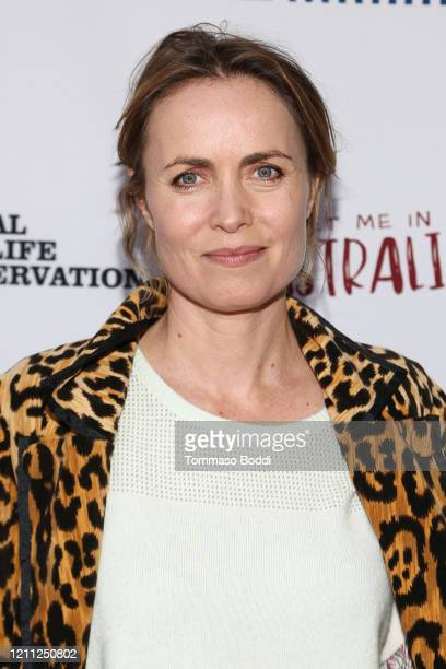 """Radha Mitchell attends The Greater Los Angeles Zoo Association Hosts """"Meet Me In Australia"""" To Benefit Australia Wildfire Relief Efforts at Los..."""