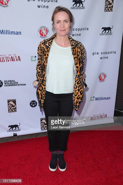 Radha Mitchell attends the Greater Los Angeles Zoo Association hosts Meet Me In Australia to benefit Australia Wildfire Relief Efforts at Los Angeles...