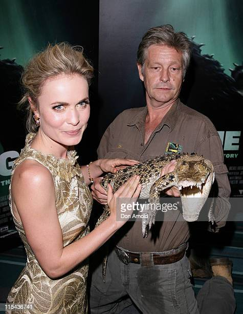 """Radha Mitchell attends the Sydney premiere of """" Rogue"""" at the Greater Union Cinemas Bondi Junction on November 5, 2007 in Sydney, Australia."""