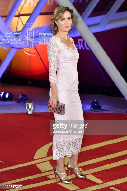 Radha Mitchell attends the tribute to Robert Redford during the 18th Marrakech International Film Festival Day Eight on December 06 2019 in Marrakech...