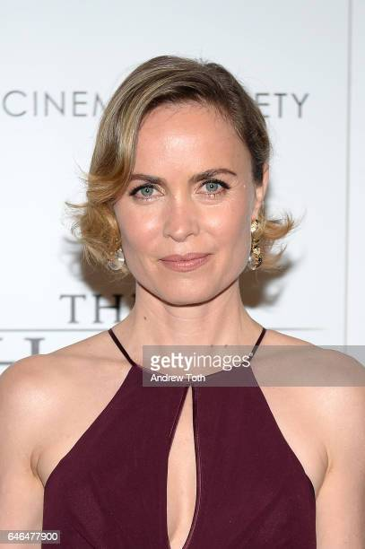 """Radha Mitchell attends the world premiere of """"The Shack"""" hosted by Lionsgate at Museum of Modern Art on February 28, 2017 in New York City."""