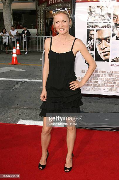 Radha Mitchell during 2007 Los Angeles Film Festival Talk To Me Screening at Mann Village Theatre in Westwood California United States