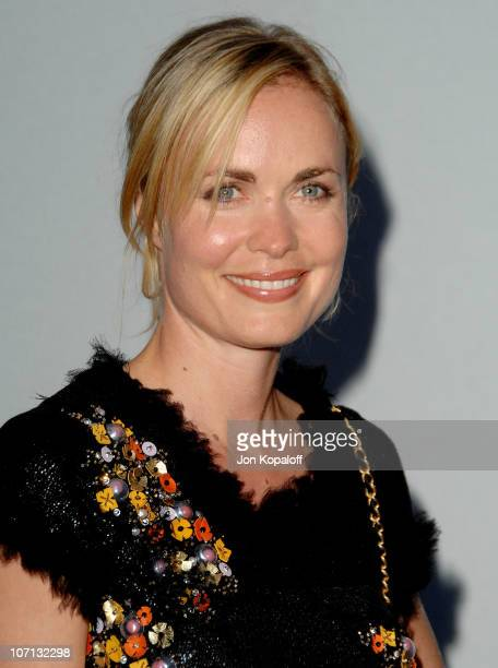 Radha Mitchell during 2007/2008 Chanel Cruise Show Presented by Karl Lagerfeld at Hangar 8 in Santa Monica California United States