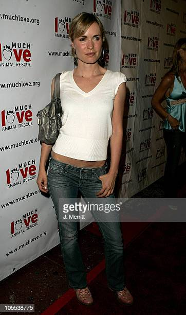 Radha Mitchell during 4th Annual Much Love Animal Rescue Celebrity Comedy Benefit Red Carpet at The Laugh Factory in Hollywood California United...