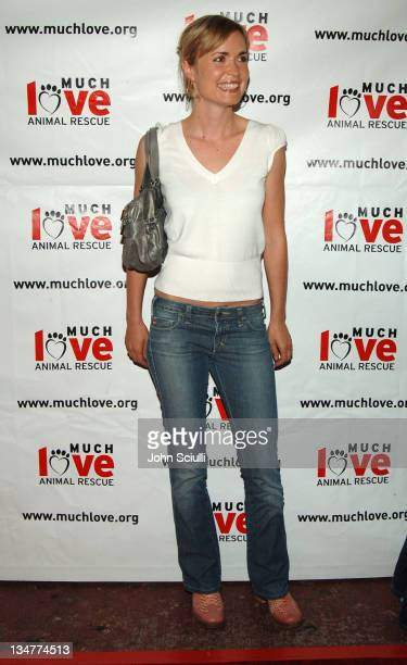 Radha Mitchell during 4th Annual Much Love Animal Rescue Celebrity Comedy Benefit Red Carpet at The Laugh Factory in Los Angeles California United...