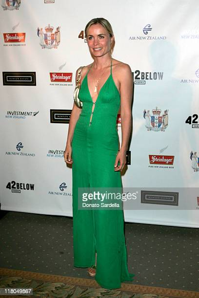 Radha Mitchell during 5th Annual Oscar Celebration of New Zealand Filmmaking at Beverly Hills Hotel in Beverly Hills California United States