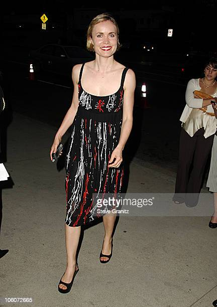 Radha Mitchell during An Inconvenient Truth Los Angeles Premiere Arrivals at Directors Guild in West Hollywood California United States