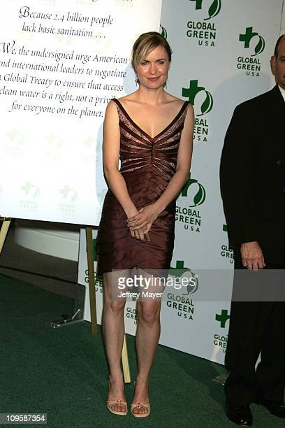 Radha Mitchell during Mikhail Gorbachev and Global Green Announce Awards for Contribution to the Environment at Beverly Hills Hotel in Beverly Hills...