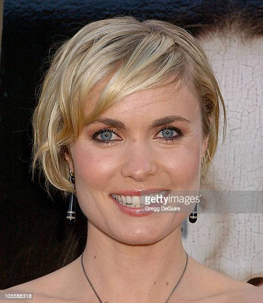 """Radha Mitchell during """"Silent Hill"""" Los Angeles Premiere - Arrivals at Egyptian Theatre in Hollywood, California, United States."""