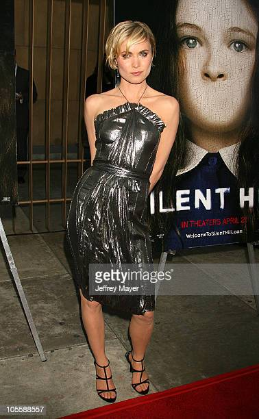 Radha Mitchell during Silent Hill Los Angeles Premiere Arrivals at Egyptian Theatre in Hollywood California United States