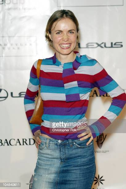 Radha Mitchell during Step Up Women's Network Lexus Present An Evening of Fashion Music at Jim Henson Studios in Hollywood CA United States
