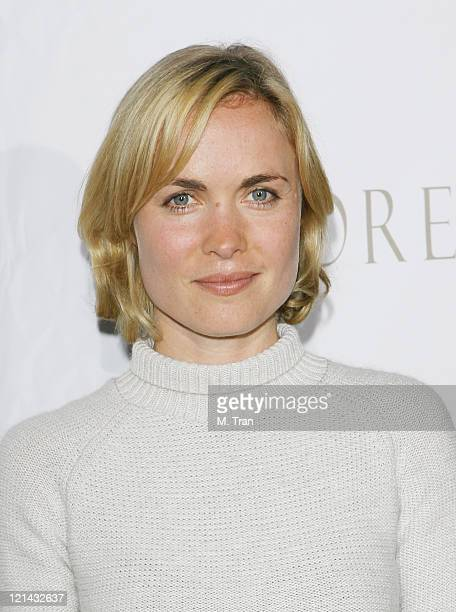 Radha Mitchell during The Tudors Los Angeles Premiere Arrivals at Egyptian Theatre in Hollywood California United States