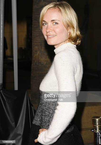 """Radha Mitchell during """"The Tudors"""" Los Angeles Premiere - Red Carpet at Egyptian Theatre in Hollywood, California, United States."""