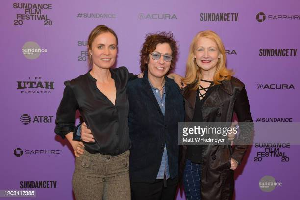 Radha Mitchell Lisa Cholodenko and Patricia Clarkson attend the 2020 Sundance Film Festival High Art Premiere at Egyptian Theater on February 01 2020...
