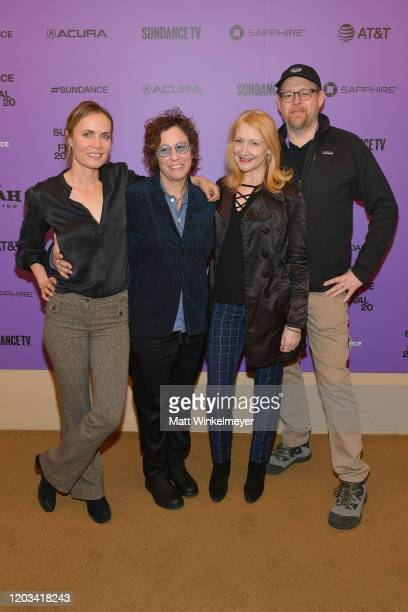 Radha Mitchell Lisa Cholodenko Patricia Clarkson and Jefrrey KusamaHinte attend the 2020 Sundance Film Festival High Art Premiere at Egyptian Theater...