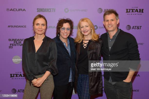 Radha Mitchell Lisa Cholodenko Patricia Clarkson and John Nein attend the 2020 Sundance Film Festival High Art Premiere at Egyptian Theater on...