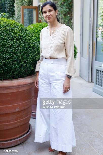 Radhika Jones attends an intimate presentation and cocktail in celebration of BoF China Prize 2018 winner Caroline Hu held in partnership with Yu...