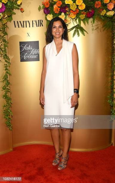 Radhika Jones attends as Vanity Fair and Saks Fifth Avenue celebrate Vanity Fair's BestDressed 2018 at Manhatta on September 12 2018 in New York City