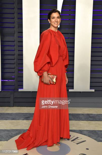Radhika Jones attends the 2019 Vanity Fair Oscar Party hosted by Radhika Jones at Wallis Annenberg Center for the Performing Arts on February 24 2019...