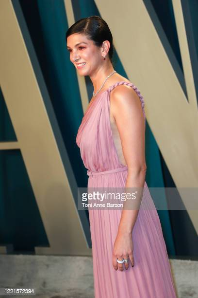 Radhika Jones attends the 2020 Vanity Fair Oscar Party at Wallis Annenberg Center for the Performing Arts on February 09, 2020 in Beverly Hills,...